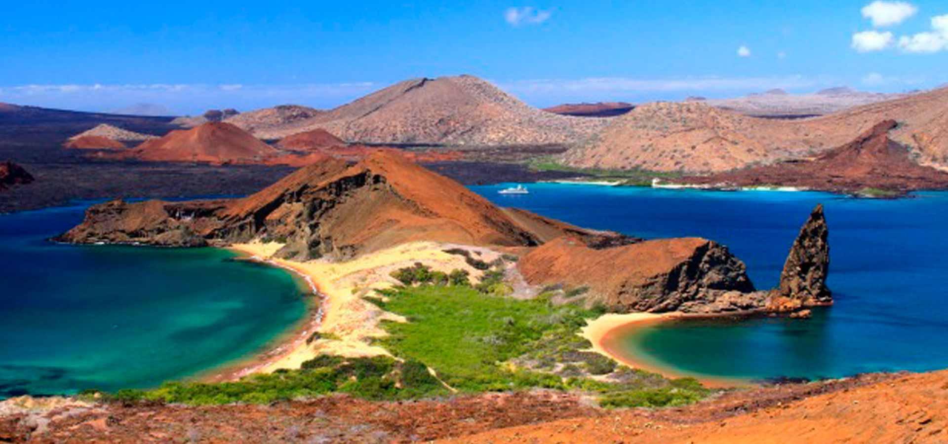 Bartholomew Island in Galapapagos